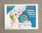 Sellos de Europa - Francia -  Fundación Investigación Médica