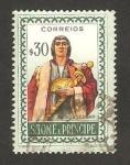 Stamps Africa - São Tomé and Príncipe -   navegante, pero escobar