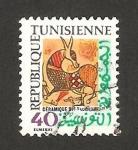 Sellos de Africa - Túnez -  cerámica