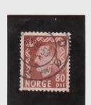 Sellos del Mundo : Europa : Noruega : haakon  VII