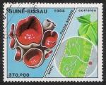 Stamps Guinea Bissau -  SETAS-HONGOS: 1.161.011,00-Peziza aurantia
