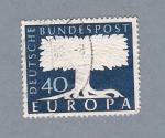 Stamps Germany -  Árbol