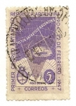 Stamps Argentina -  Primer Correo Antártico