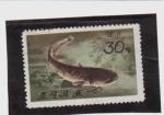 Stamps Asia - North Korea -  fauna acuatica