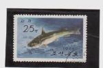 Sellos de Asia - Corea del norte -  Fauna acuatica
