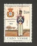 Sellos del Mundo : Africa : Cabo_Verde :  uniformes militares, soldado granadero de infantería