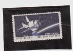 Stamps Asia - North Korea -  satelite lanzado en 1965