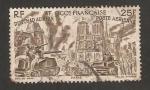 Stamps Africa - Mauritania -  África occidental francesa, de Chad al Rhin