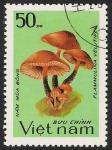 Stamps Vietnam -  SETAS:261.002(1)D.983.97-Y.453-M.1372-S.1324-Pleurotus ostreatus