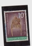 Stamps Senegal -  pterocanium tricolpum