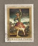 Stamps Hungary -  Bailarina