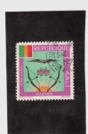 Stamps of the world : Mali :  Escudo nacional