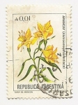 Stamps Argentina -  Amancay