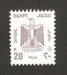 Stamps Egypt -  águila real