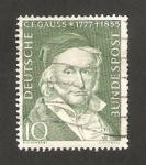 Stamps Germany -  80 - Centº de la muerte del astrónomo  y matemático, Carl Friedrich Gauss