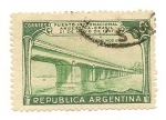 Stamps Argentina -  Puente Internacional Argentina-Brasil