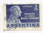 Sellos de America - Argentina -  Monumento al Gral. Manuel Belgrano