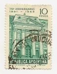 Sellos de America - Argentina -  75° Aniversrio B.N.A
