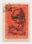 Stamps Argentina -  Bodas de Oro de la Caja Nacional de Ahoro Postal