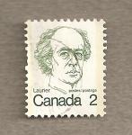 Sellos de America - Canadá -  Sir Wilfrid Laurier