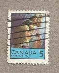 Stamps Canada -  Niños de varias razas, Navidad