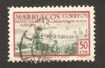 Stamps : Africa : Morocco :  moras en las azoteas