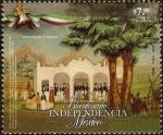 Stamps Mexico -  Bicentenario de la Independencia de Mexico
