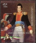 Stamps Mexico -  Bicentenario de la Independencia de Mexico