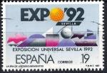 Stamps Europe - Spain -  2875 Exposición Universal de Sevilla. EXPO`92.