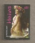Stamps Oceania - Polynesia -  Heiva
