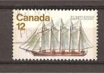 Sellos de America - Canadá -  Barcos