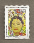 Stamps Oceania - Polynesia -  Mujeres de Polinesia