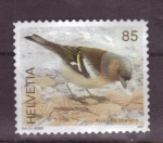 Stamps Switzerland -  serie aves