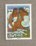 Stamps Polynesia -  Cuadro de Menghini