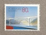 Stamps Portugal -  Puente sobre el río Duero