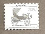 Sellos de Europa - Portugal -  Coche de época