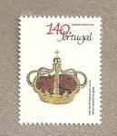 Sellos de Europa - Portugal -  Corona real