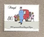 Stamps Portugal -  Organización de Correos, Telégrafos y Teléfonos en 1911