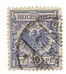 Stamps : Europe : Germany :  Aguila