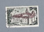 Sellos de Europa - Francia -  Chateau de Bazoches du Morvand