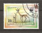 Sellos de Africa - Nigeria -  Antilopes
