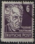 sellos de Europa - Alemania -  Gerhart Hauptmann