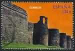 Stamps Spain -  ESPAÑA - Muralla romana de Lugo
