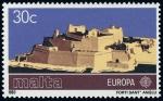 Stamps Europe - Malta -  MALTA - Ciudad de La Valette