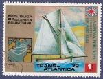 Stamps : Africa : Equatorial_Guinea :  GUINEA EC Trans-atlántica 72 1