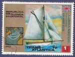 Sellos del Mundo : Africa : Guinea_Ecuatorial : GUINEA EC Trans-atlántica 72 1