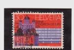 Sellos de Europa - Suiza -  Centenario de la fundación del U.P.U.