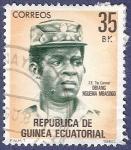 Sellos del Mundo : Africa : Guinea_Ecuatorial : GUINEA EC Obiang Nguema Mbasogo 35
