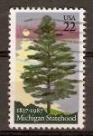 Stamps United States -  PINO  BLANCO