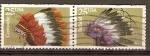 Stamps America - United States -  PENACHOS  INDIOS